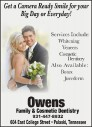 Owens Family & Cosmetic Dentistry