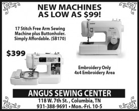 Angus Sewing Center