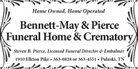 Bennett-May & Pierce Funeral Home & Crematory