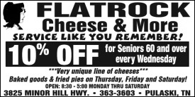 Flatrock Cheese and More