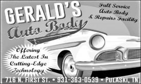 Gerald's Auto Body & Repair