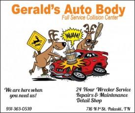 Gerald's Auto Body