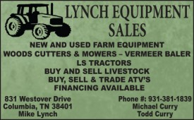 Lynch Equipment Sales