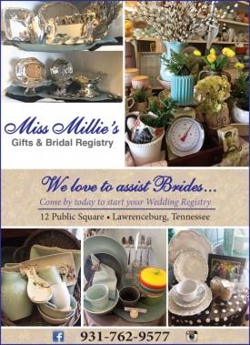 Miss Millie's Gifts & Bridal Registry