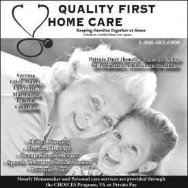 Quality First Homecare