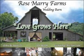 Rose Marry Farms Wedding Barn