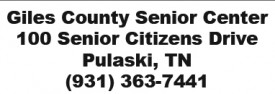 Giles County Senior Center