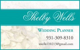 Shelby Wells Wedding Planner