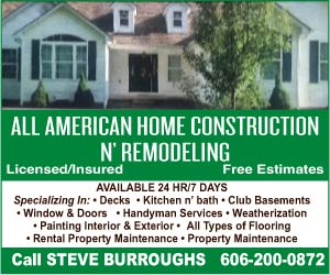 All American Home Construction N' Remodeling