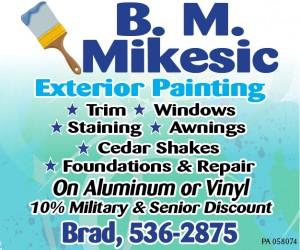 B. M. Mikesic Painting