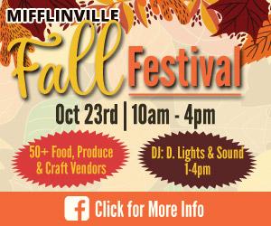 Mifflinville Fall Festival