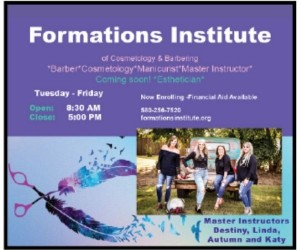 Formations Institute of Cosmetology & Barbering LLC
