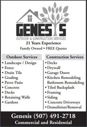 Genesis Outdoor & Construction Services LLC
