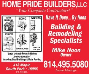 HOME PRIDE BUILDERS, LLC