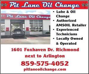 Pit Lane Oil Change