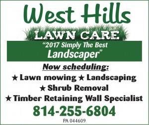 West Hills Lawn Care, Inc.