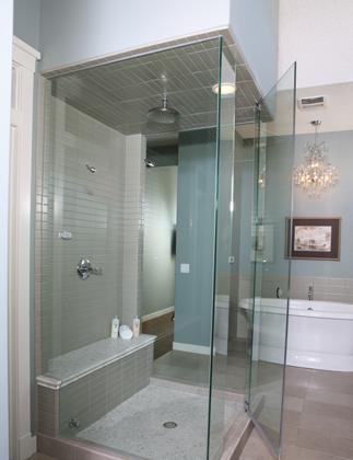 Spring Home Modernize Your Bathroom With A Frameless Glass Shower Enclosure Newspaper