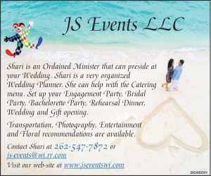 JS Events LLC - Ordained Minister & Wedding Planning Services